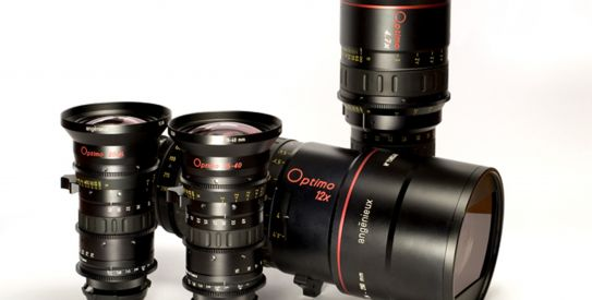 Optimo Series: gama completa de lentes para Film e Cine Digital da Thales Angenieux