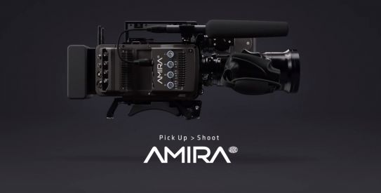 NOVA CÂMERA ARRI AMIRA<br/>The new documentary-style camera