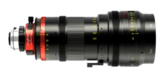 Novo zoom Angenieux Optimo DP 25-250